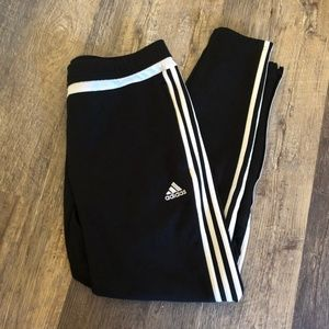 Black Adidas Soccer Pants